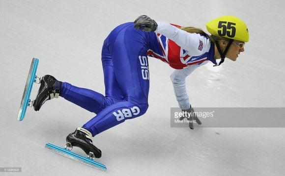 Sarah Lindsay speed skater