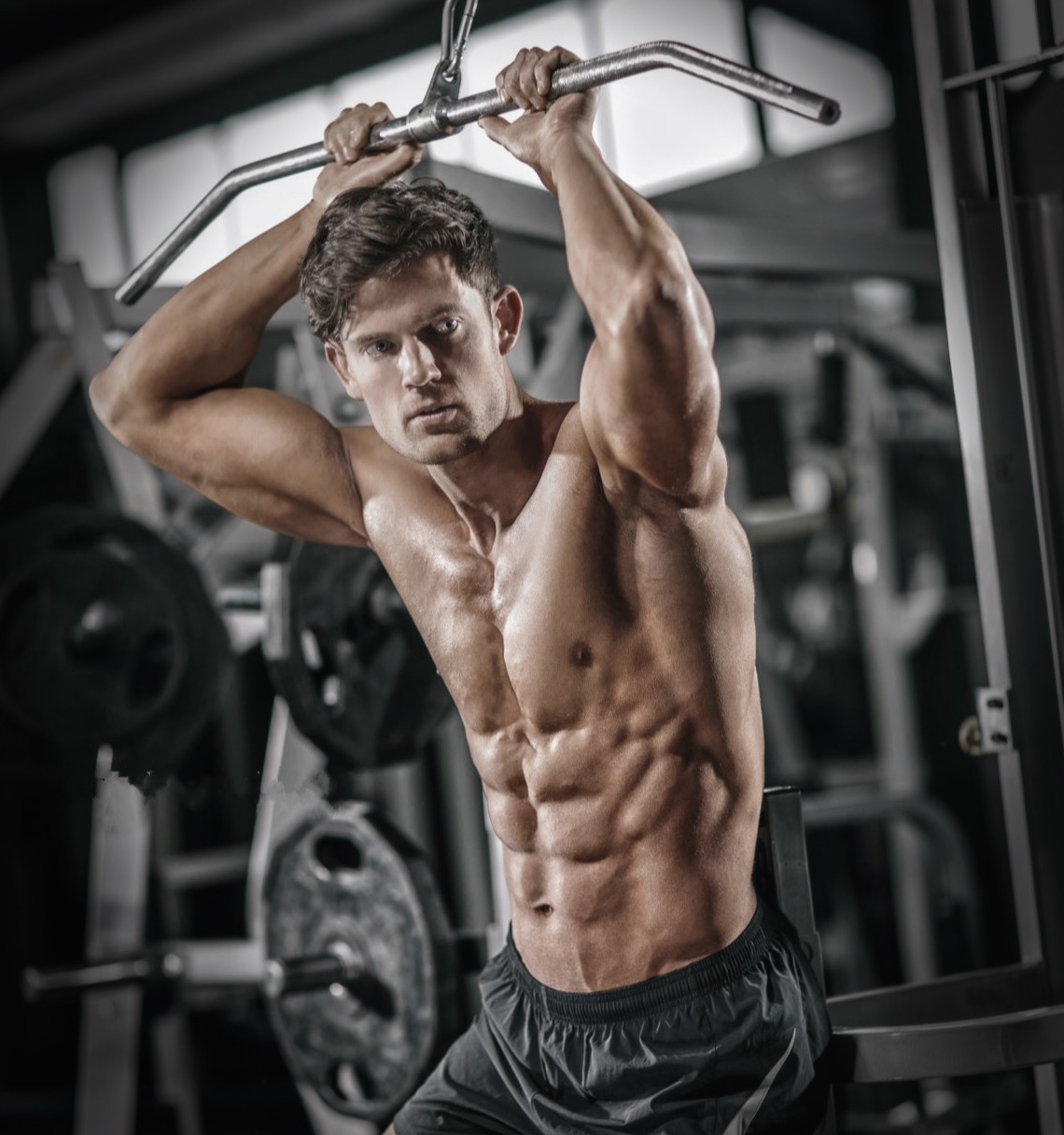 Muscle building results with Josh Faux