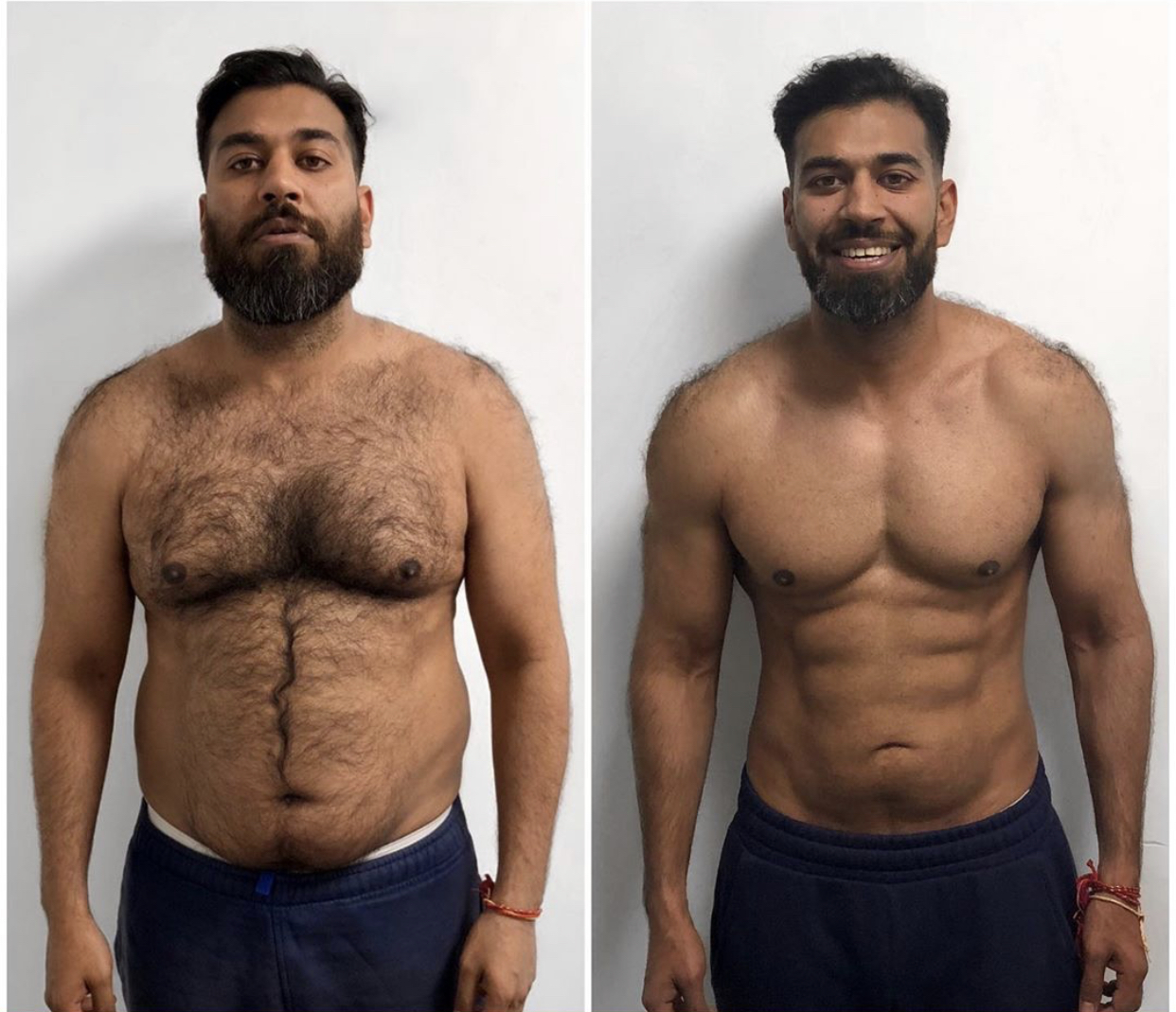 fat loss results by London's leading team pf personal trainer